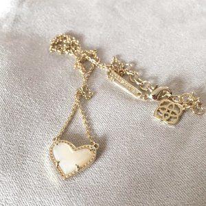 NWOT Kendra Scott Ari Heart Necklace